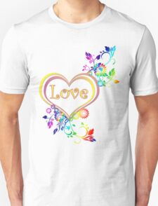 Love in your heart  Unisex T-Shirt