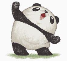 Panda's joy of the victory by Toru Sanogawa