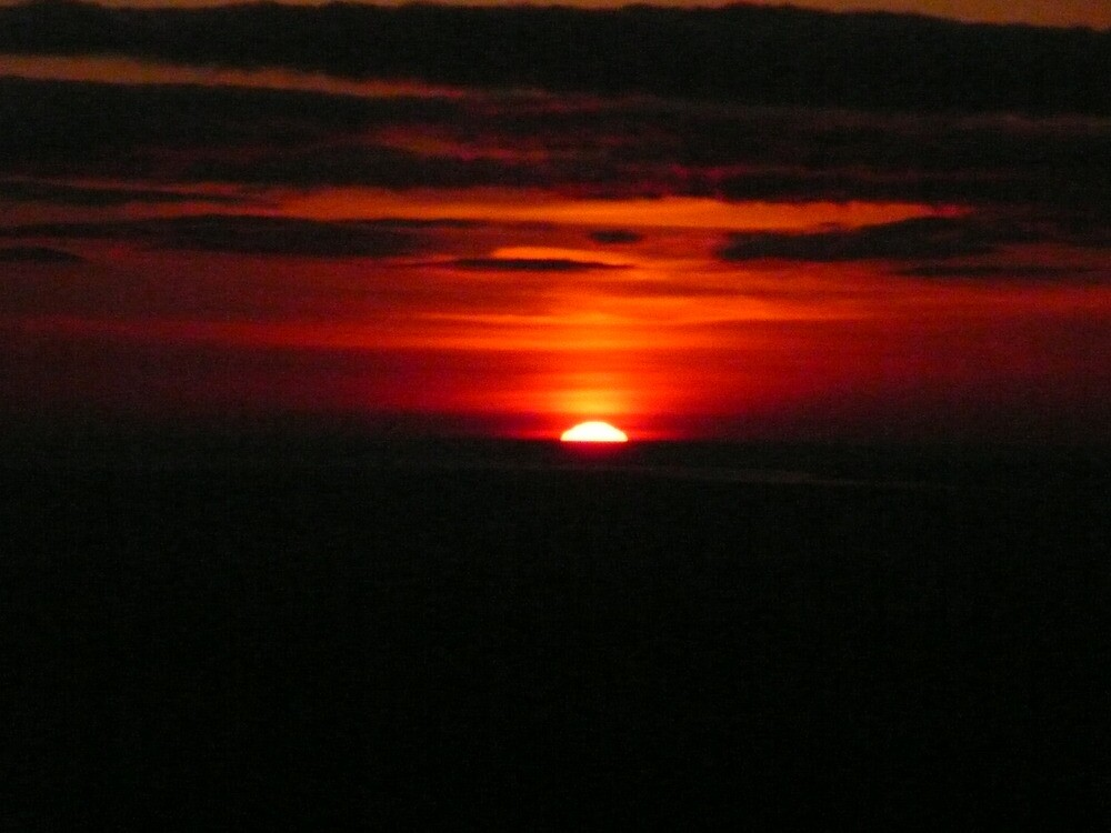 Sunset from Darwen Tower, Lancashire by MickC