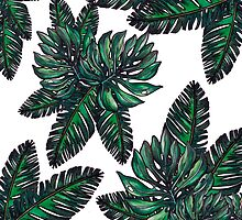 Palm print by FashionDoodles