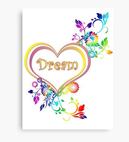 Dream Heart Canvas Print