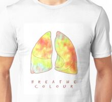 breathe colour Unisex T-Shirt
