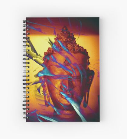 5108 Buddha Head Spiral Notebook