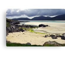 Across Luskentyre Bay Canvas Print
