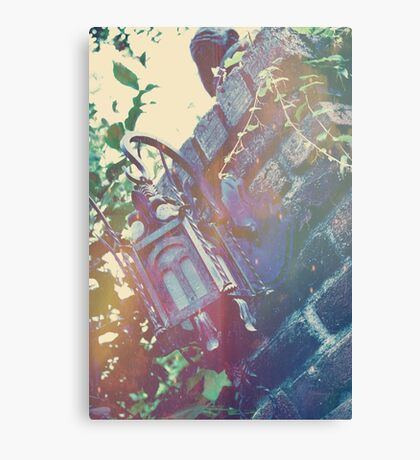 Haunted Lamp Canvas Print