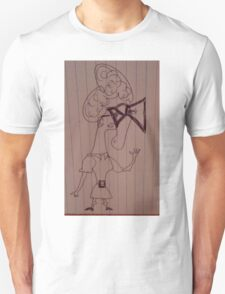 Maudine And Her Square Glasses Unisex T-Shirt
