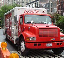 Delivering Coca Cola New York style by waynebolton