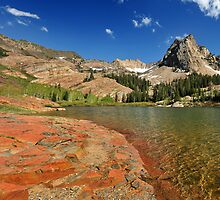 Lake Blanche, Twin Peaks Wilderness Area by Ryan Houston