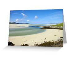 Luskentyre Beach, Outer Hebrides Greeting Card