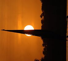 Sunset on the Nile by MickC