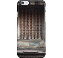 Temple wall, Cambodia iPhone Case/Skin