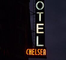 """I remember you well in the Chelsea Hotel"" - New York City by waynebolton"