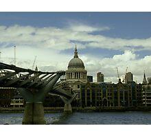 London Millennium Bridge Photographic Print