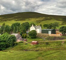 Wanlockhead View by Tom Gomez