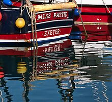Miss Pattie ~ Lyme Regis Harbour by Susie Peek