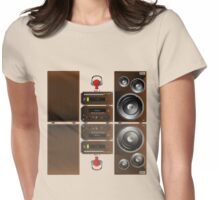 Feel the sound Womens Fitted T-Shirt