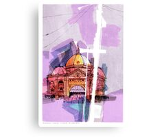 Flinders Street Station, Melbourne Canvas Print