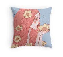 Enya Throw Pillow