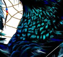 Black Eagle and Dreamcatcher Sticker