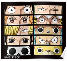 One Piece Faces Poster