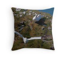 Bempton Cliffs 7 Throw Pillow