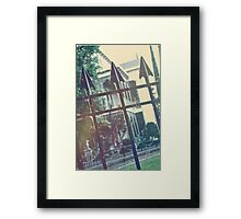 Beyond the Gate Framed Print