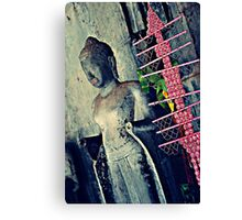Pink is My Colour - Siem Reap Cambodia Canvas Print