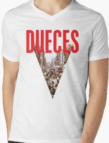 Dueces Mens V-Neck T-Shirt