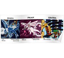 Creation Dragon Trio Poster