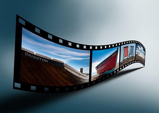 Brighton Film Strip by Kevin  Poulton
