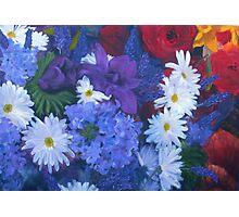 The Flower Market - 2009 Photographic Print