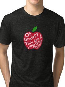 Gravity is Heartless Tri-blend T-Shirt