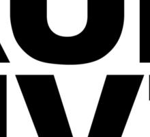 RUN HVZ: Humans Vs. Zombies Sticker