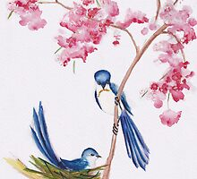 Cherry Blossom Love by Marie Magnusson