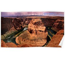 Horseshoe Bend , Arizona Poster