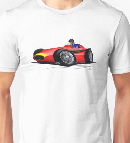 F1 1957 - Maserati 250F - Fangio Unisex T-Shirt