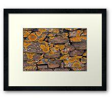 Slate Wall 5247 Framed Print