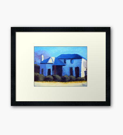 A Cottage in Mt Barker Framed Print