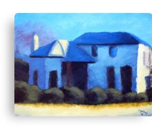 A Cottage in Mt Barker Canvas Print