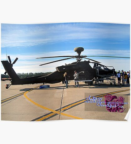 apache helicopter  Poster