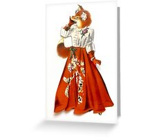 furrier Greeting Card