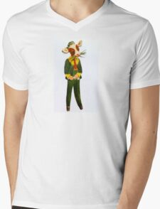 Cowpoke Mens V-Neck T-Shirt
