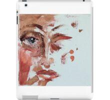 Tears Unfinshed; Semi Colon series #2 iPad Case/Skin