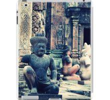 Inside the Temple - Siem Reap Cambodia iPad Case/Skin