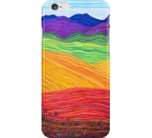 Perfect Pastels - Flinders Layers With Grass iPhone Case/Skin