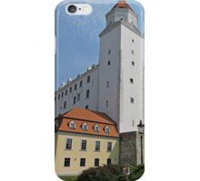 Bratislava Castle, Slovenia iPhone Case/Skin