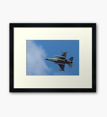Fighting Falcon Framed Print