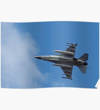 Fighting Falcon Poster