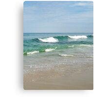 Perfect Day at the Beach Canvas Print