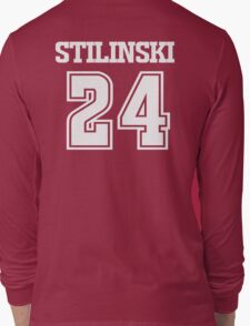 Stiles Stilinski Lacrosse Jersey - Back Long Sleeve T-Shirt
